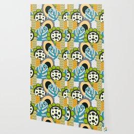 Fresh floral bunch Wallpaper