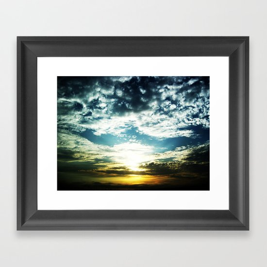 After My Grandfather Passed Framed Art Print