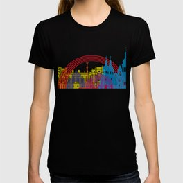 Kiev skyline pop T-shirt
