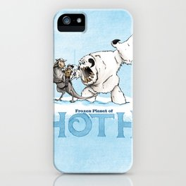 The Frozen Planet of Hoth iPhone Case
