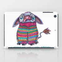 donkey iPad Cases featuring Donkey by Ruth Wels