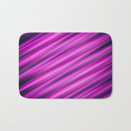 Abstract background blur motion pink strip Bath Mat