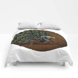 Mutant Zoo - Peacockroach Comforters