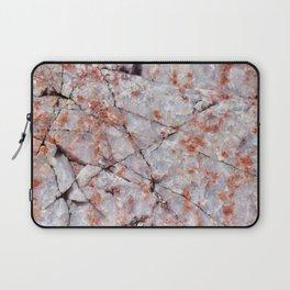 Quartz in granite Laptop Sleeve