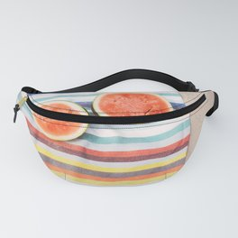 Beach Watermelon Fanny Pack