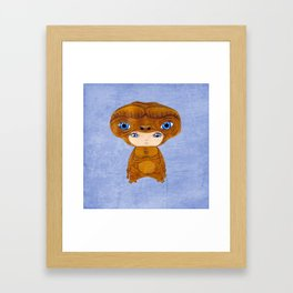 A Boy - E.T. the Extra-terrestrial Framed Art Print