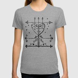 Maman Brigette Voodoo Veve Symbol T-shirt