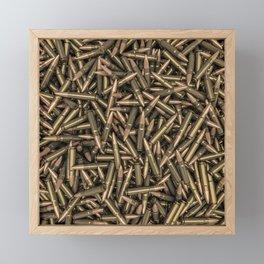 Rifle bullets Framed Mini Art Print