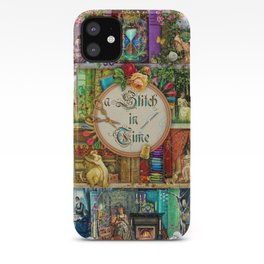 A Stitch In Time iPhone Case