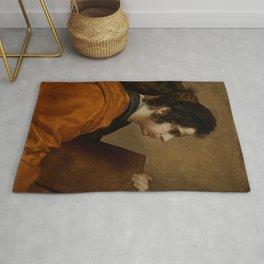 "Diego Velázquez ""A Sybil (Portrait of Juana Pacheco)"" Rug"