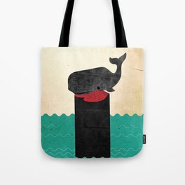 THE SUICIDE KING Tote Bag