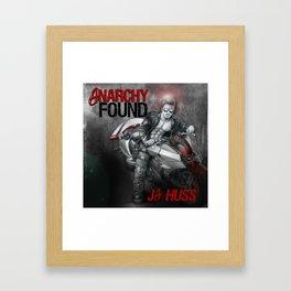 Anarchy Found (Superhero Romance)  - by JA Huss Framed Art Print