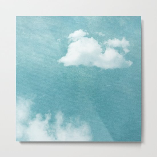 ABOVE ALL CLOUDS Metal Print