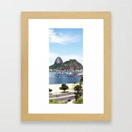 rj Framed Art Print