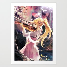 The Beauty of Sound Art Print
