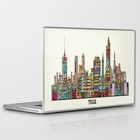 oklahoma Laptop & iPad Skins featuring Tulsa oklahoma by bri.buckley