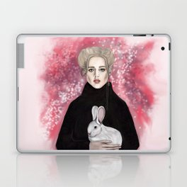 girl with the rabbit Laptop & iPad Skin
