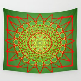 Symmetric composition 6 Wall Tapestry