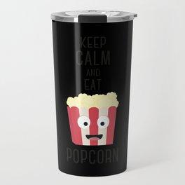 Eat Popocorn Travel Mug