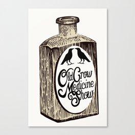 Old Crow Medicine Show Tonic Canvas Print