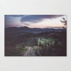Perfect place Canvas Print