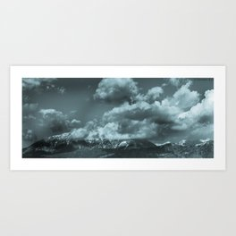 Provo Mountains Art Print