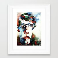danny ivan Framed Art Prints featuring Ivan by ellen z salov