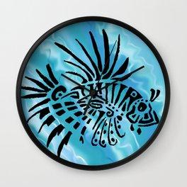 lion fish 1 Wall Clock