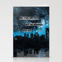 paper towns Stationery Cards featuring Paper Towns John Green Quote by denise