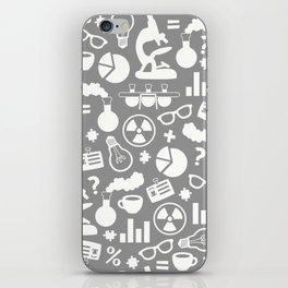 Grey Scientist iPhone Skin