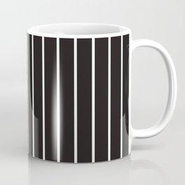 White Strips Coffee Mug