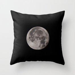 Full Moon 04/11/17 Throw Pillow