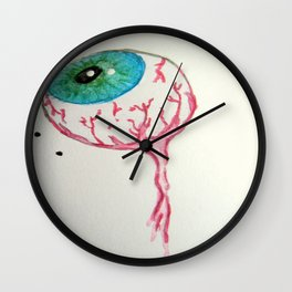 The All Seeing Eye Wall Clock