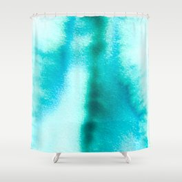 Bloom in Blue Shower Curtain
