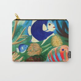 Magnificent sight sea world | Vue magnifique des bas fonds Carry-All Pouch