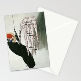 Touched by death Stationery Cards