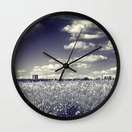Following Dreams Wall Clock