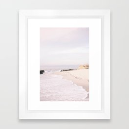 Sunset at La Jolla Framed Art Print