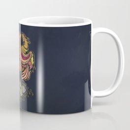 Watercolor Phoenix bird Coffee Mug