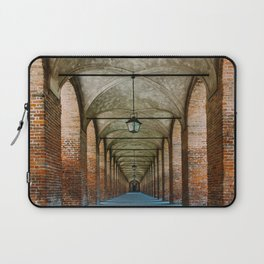 Sabbioneta, colonnade, Italy Laptop Sleeve