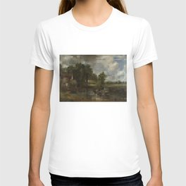The Hay Wain in 1,750 pixels (35x50) T-shirt