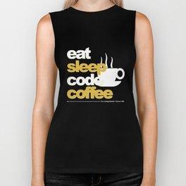 Programmer : Eat, Sleep, Code, and Coffee Biker Tank