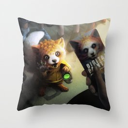 Digital Painter available for work Throw Pillow