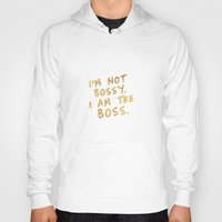 boss Hoodies featuring BOSS by Michaela Ramstedt