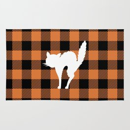 Buffalo Plaid - Scared Cat Rug