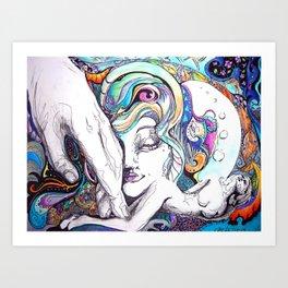 Sixty Feet Tall Art Print