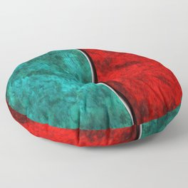 Blood and Water Floor Pillow