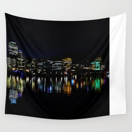 Wellington City Scape Wall Tapestry