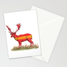 SPANISH Fallow Deer Stationery Cards