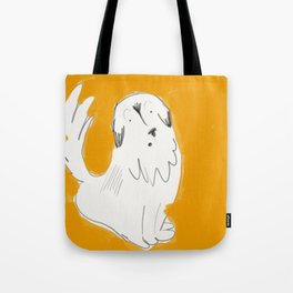 Scaredy George Tote Bag
